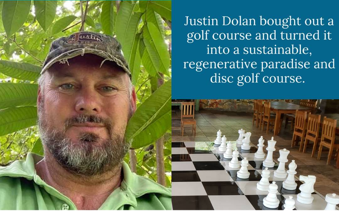 #003 Justin Dolan – The Permaculture Country Club: Bio-diversity, Bokashi, and Competition within Community