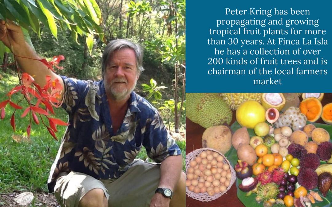 #005 Peter Kring – Finca La Isla: Fruit Forest Maintainence & Farmers Markets