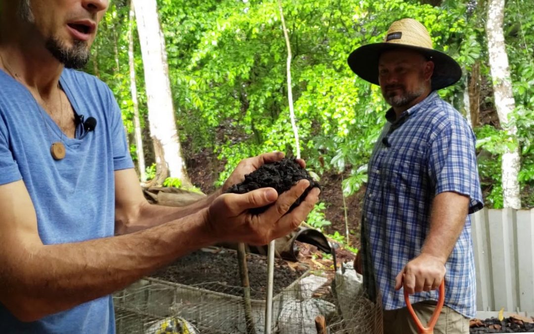 Bokashi & Biochar for Better Gardens (Justin Dolan: St Michael's Permaculture Country Club)