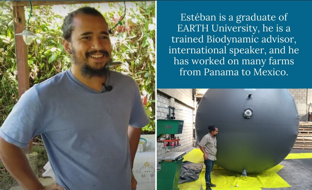 #009 Estéban Acosta of Sembrando Flores and Viogaz: Biodynamics, Commercial Crops, & Home-Scale Biodigesters