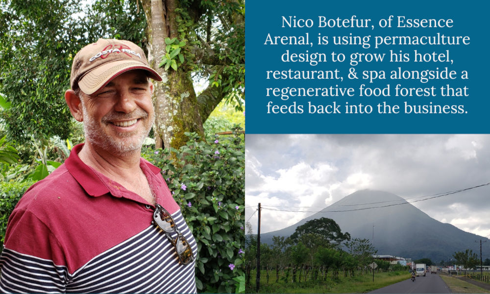 #011 Nico Botefur of Essence Arenal: Permaculture Designed Hotel, Restaurant, and Food Forest