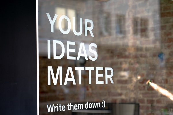 change - your ideas count